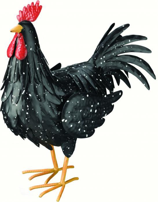 Regal Art & Gift Black Rooster Large