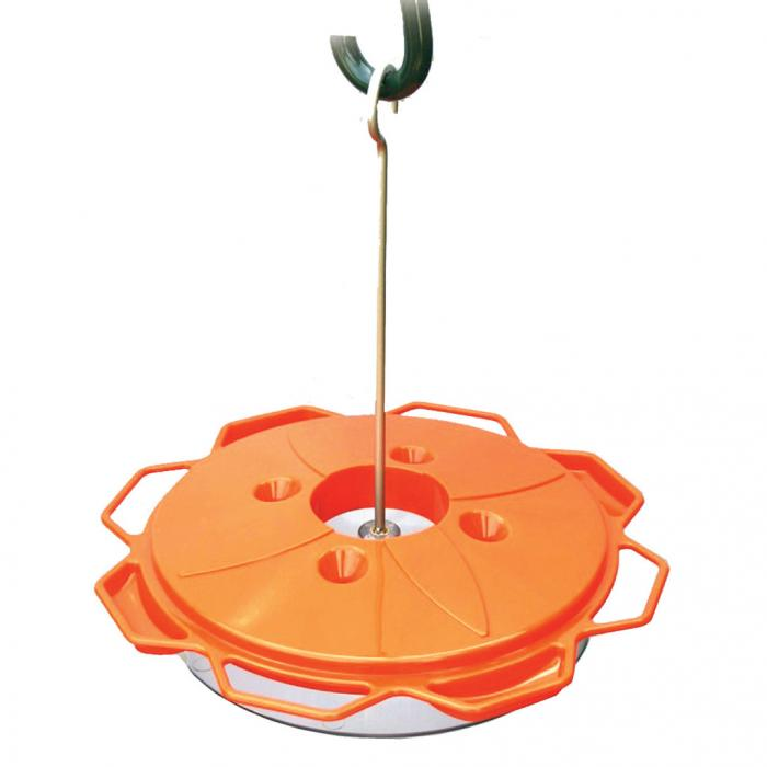 Woodlink Classic Oriole Bird Feeder with Nectar and Jelly Feeding Stations