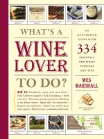 Workman Publishing What's a Wine Lover to Do