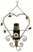 Sunset Vista Designs DIY Flower Hummingbird Feeder