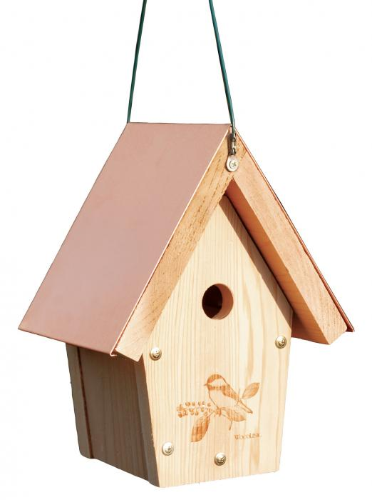 Woodlink Audubon Series Coppertop Chick/Wren House
