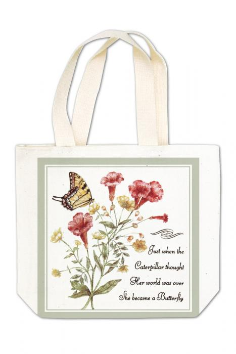 Alice's Cottage Yellow Swallowtail Gift Tote