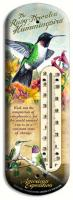 American Expeditions Hummingbird Tin Thermometer