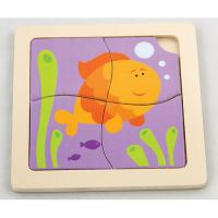 The Original Toy Company First Puzzles, Fish