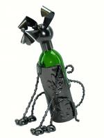 Three Star Sitting Dog Wine Bottle Holder