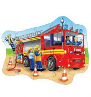 The Original Toy Company Fire Engine Shaped puzzle