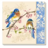 Counter Art Bluebirds Coasters Set of 4