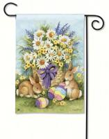 Magnet Works Easter Bunnies Garden Flag