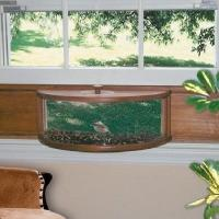 Coveside Panoramic In-House Window Bird Feeder