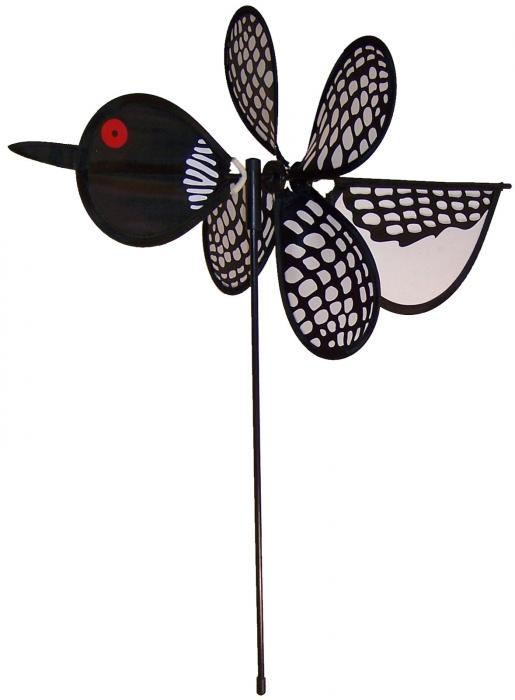 In The Breeze Loon Baby Bird Spinner