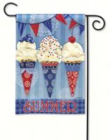 Magnet Works Scoops of Summer Garden Flag