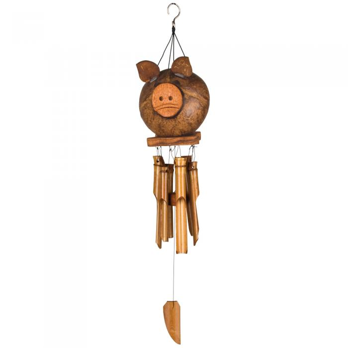 Woodstock Chimes Coco Pig Bamboo Chime