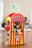 Little Partners Popcorn / Puppet Show Playhouse Kit