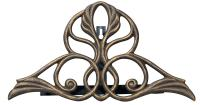 Victorian Hose Holder - Oil Rub Bronze