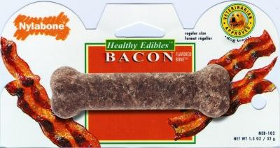 Healthy Edibles Gluten Free Bacon Flavored Dog Bone - TF80799