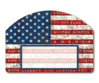 Magnet Works Pledge of Allegiance Yard DeSign