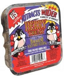 C & S Products Berry Treat Wild Bird Suet