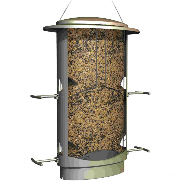 Classic Brands Squirrel-Proof X-1 Seed Bird Feeder