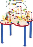 Fleur Rollercoaster Table (metal legs)