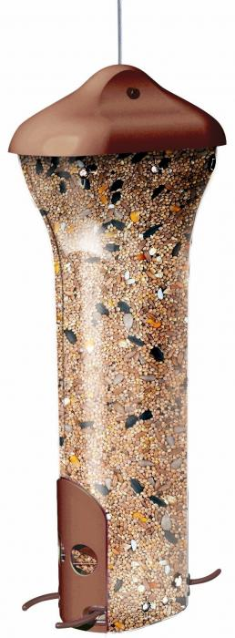 Perky Pet The Breakaway Squirrel Proof Tube Bird Feeder