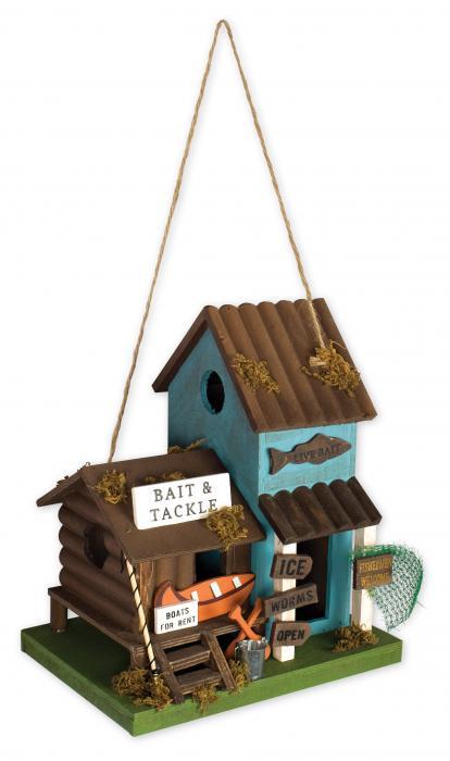 Sunset Vista Designs Bait & Tackle Birdhouse