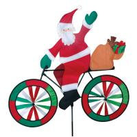 Premier Designs Santa Bicycle Spinner