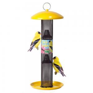 No-No Feeder Yellow Straight Sided Finch Bird Feeder