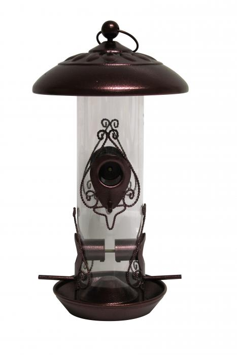 Heath Craftsman Decorative Mixed Seed Tube Bird Feeder