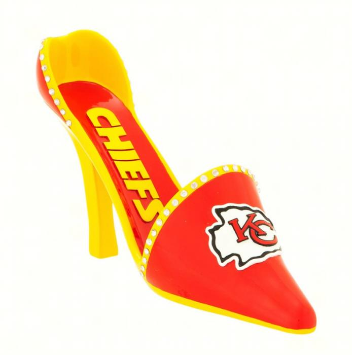 Evergreen Enterprises Kansas City Chiefs Decorative Team Show Wine Bottle Holder