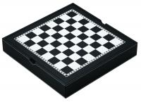 Mainstreet Classics Chess - Checkers - Backgammon with Chessmen Storage