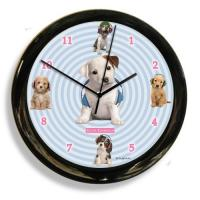 California Clock Headphones Dog Clock (41602)