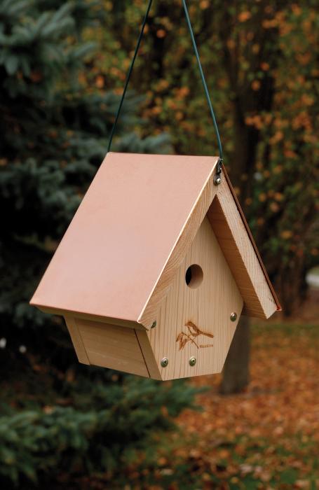 Woodlink Audubon Series Coppertop Hanging Wren House
