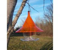 Arundale Sky Cafi Bird Feeder, Orange