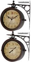 Infinity Two Sided Charlston Station Clock Thermometer