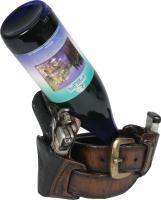 Rivers Edge Products Pistol Wine Bottle Holder