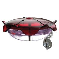 Droll Yankees Ruby Sipper Window Hummingbird Feeder Lavendar