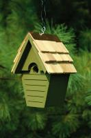 Heartwood Wren-In-The-Wind Birdhouse, Pinion Green