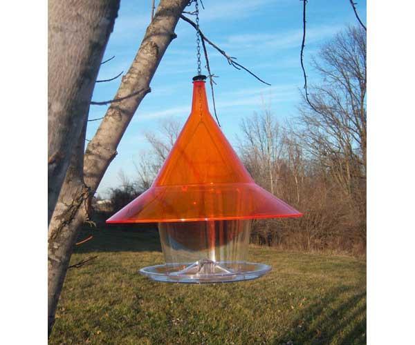 Arundale Sky Cafi Bird Feeder, Orange