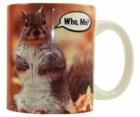 """Songbird Essentials Mug 11oz """"Who Me?"""""""