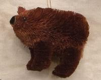 Brushart Bear Brown Ornament