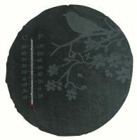 Best For Birds Slate Thermometer Square