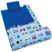 Olive Kids Trains, Planes & Trucks Sleeping Bag