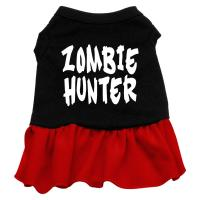 Zombie Hunter Dog Dress - Red Lg