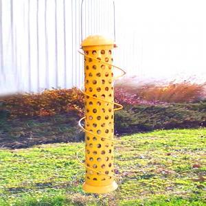 Songbird Essentials Jumbo Spiral Whole Peanut Bird Feeder