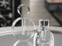 "Zodax Modern Morocco Glass Perfume in Double ""O"" Shaped Bottle"