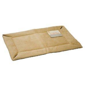 K&H Manufacturing Crate Pad Self-Warming Tan 25x37