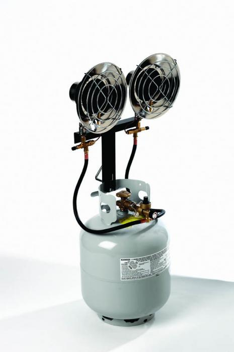 Texsport Deluxe Double Propane Heater