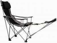 Travel Chair Big Bubba Folding Outdoor Chair, Black