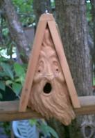 Creative Carvings by Monte Small Spirit Bird House