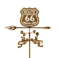 EZ Vane Route 66 Weathervane
